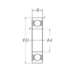 NSK 6907L11-H-20DDU deep groove ball bearings