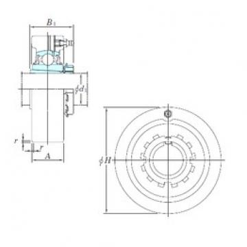 KOYO UKC312 bearing units