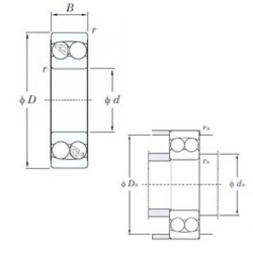 KOYO 2319 self aligning ball bearings