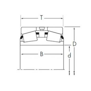 Timken HH221440D/HH221410 tapered roller bearings