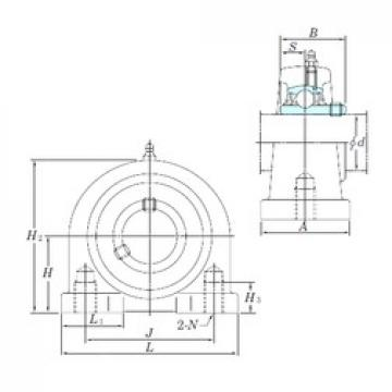 KOYO UCPA210-32 bearing units