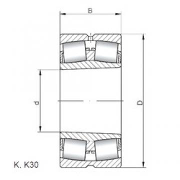 ISO 24044 K30W33 spherical roller bearings