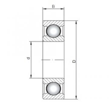 ISO 61706 deep groove ball bearings