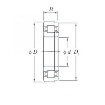 KOYO NUP2305R cylindrical roller bearings