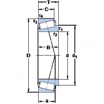 SKF LM 245846/810 tapered roller bearings
