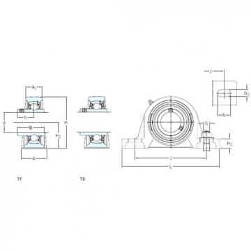 SKF SYH 2. WF bearing units