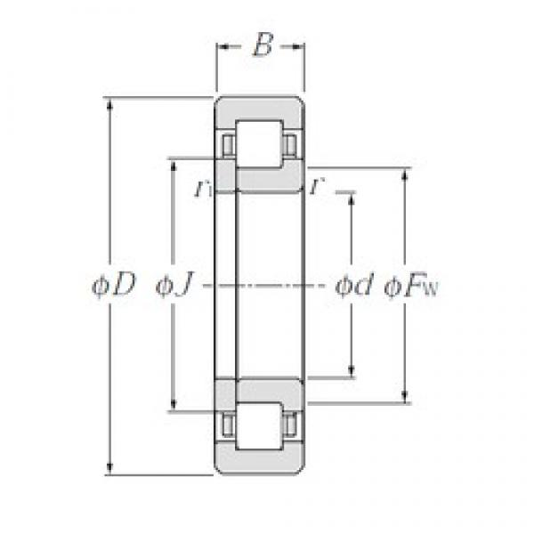 NTN NUP1026 cylindrical roller bearings #1 image
